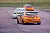 Matt Neal (Honda Civic) chased by Mat Jackson (BMW 320si) & Gordon Shedden (Honda Civic)