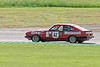 Paul Chase-Gardner driving a class TD2C Ford Capri taken at Thruxton 50th Anniversary Celebration race meeting.