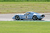 Nick Thompson/Sean McClurg driving a Class SRD Chevron B6 taken at Thruxton 50th Anniversary Celebration race meeting.