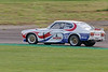 Adam Morgan driving a class HT2C Ford Capri taken at Thruxton 50th Anniversary Celebration race meeting.