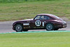 David Reed/Peter Snowdon drivinga Class WT3 Aston Martin DB2 taken at Thruxton 50th Anniversary Celebration race meeting.