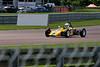 Dick Dixon driving a Lotus 61 Historic Formula Ford 1600 taken at Thruxton 50th Anniversary Celebration race meeting.