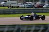 Louis Hanjoul driving a damaged Elden Mk8/10 Historic Formula Ford 1600 taken at Thruxton 50th Anniversary Celebration race meeting.