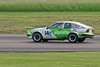 Paul Clayson driving a class TD2B Alfa Romeo GTV6 taken at Thruxton 50th Anniversary Celebration race meeting.