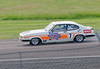 Patrick Watts driving a class TD2C Ford Capri MkIII S 3000 taken at Thruxton 50th Anniversary Celebration race meeting.