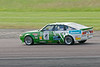 Fred Wakeman driving a class HT2C Rover SD1 taken at Thruxton 50th Anniversary Celebration race meeting.
