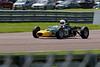 Alex Meek driving a Merlyn Mk20a Historic Formula Ford 1600 taken at Thruxton 50th Anniversary Celebration race meeting.