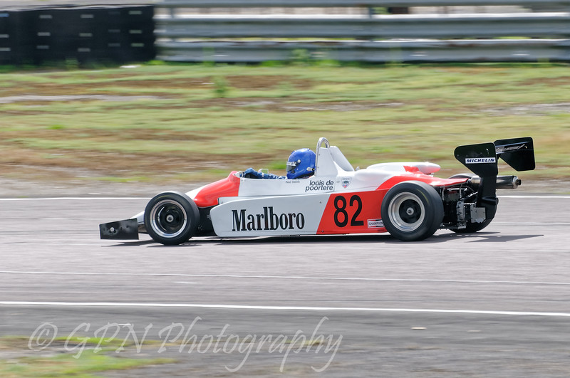 Paul Smith driving a Classic F3 Ralt RT3 taken at Thruxton 50th Anniversary Celebration race meeting.