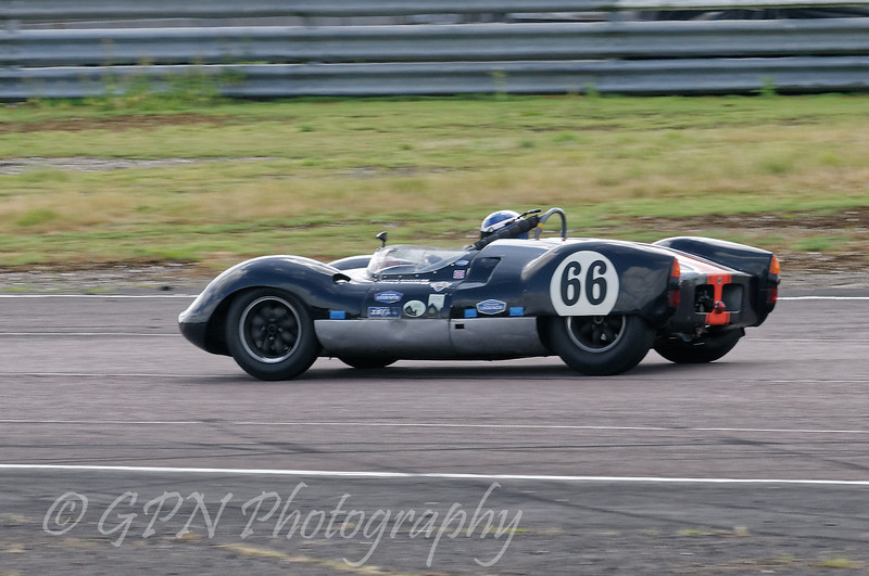 Justin Maeers/Charlie Martin driving a Class SMT5 Cooper Monaco taken at Thruxton 50th Anniversary Celebration race meeting.