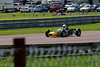 Alex Meek driving a Merlyn Mk20A Hsitoric Formula Ford 1600 taken at Thruxton 50th Anniversary Celebration race meeting.