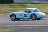 Theo Hunt/Mike Grant-Peterkin driving a Class INV Austin Healey 3000 taken at Thruxton 50th Anniversary Celebration race meeting.