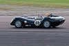 Chris Ward driving a Class SMT6 Lister Knobbly taken at Thruxton 50th Anniversary Celebration race meeting.