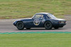Richard Bateman driving a Class A Lotus Elan taken at Thruxton 50th Anniversary Celebration race meeting.