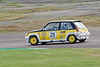 Tony Hart/Will Nuthall driving a class HT3B Renault 5 GT Turbo taken at Thruxton 50th Anniversary Celebration race meeting.