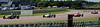 Alex Meek driving a Merlyn Mk20a leads Ben Mitchell driving a Merlyn Mk20 and Cameron Jackson driving a Lola T200 Historic Formula Ford 1600 taken at Thruxton 50th Anniversary Celebration race meeting.