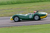 Tiff Needell driving a Class SMT6 Lister Jaguar Knobbly taken at Thruxton 50th Anniversary Celebration race meeting.