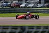 Chris Stuart driving a Crossle 16F Historic Formula Ford 1600 taken at Thruxton 50th Anniversary Celebration race meeting.