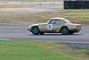 John Davison driving a Class A Lotus Elan 26R taken at Thruxton 50th Anniversary Celebration race meeting.