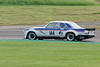 Paul Pochcoil/James Hansen driving the class HTC INV Jaguar XJ12C taken at Thruxton 50th Anniversary Celebration race meeting.
