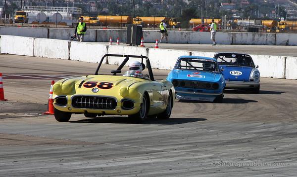 1958 Corvette, 1971 Alfa Romeo GTV, & 1967 Porsche 912