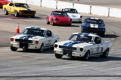 1965 Ford Mustang & 1966 Shelby GT 350
