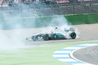 ...smoking some tires