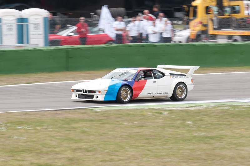 Old BMW M1...great sound