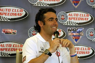 Dario Franchitti, Auto Club Speedway 2012