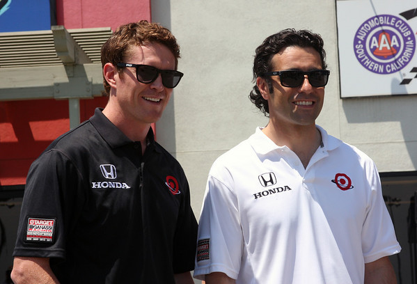 Dario Franchitti & Scott Dixon at ACS