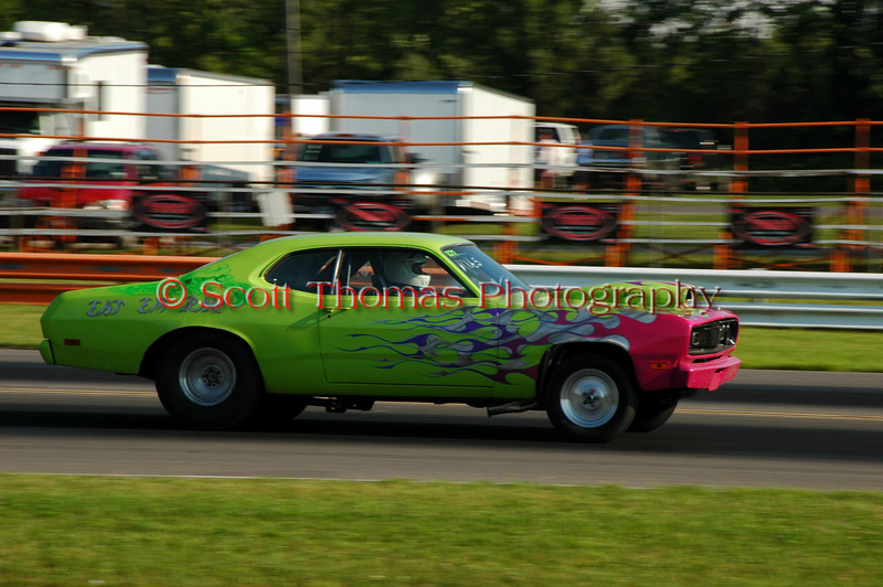 ESTA Safety Park Dragstrip racing action from July 29, 2007 near Cicero, New York.