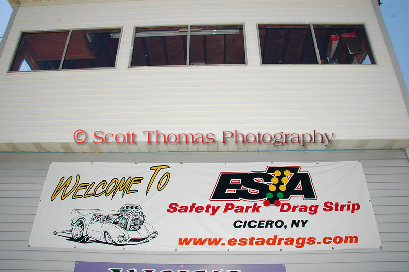ESTA Safety Park Dragstrip racing action from May 6, 2005 near Cicero, New York.