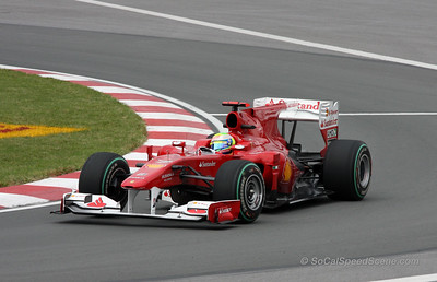 Felipe Massa - 2010 Grand Prix of Canada