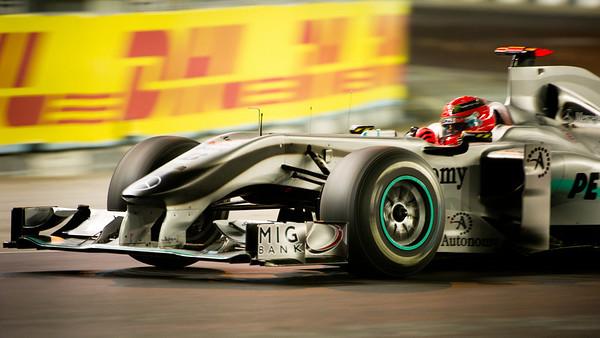 F1 weekend singapore 2010