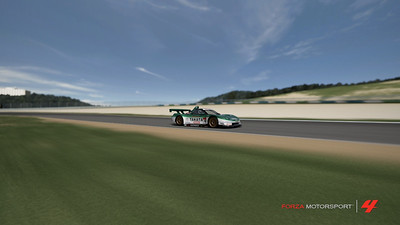 Acura NSX at speed