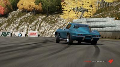 Corvette sliding