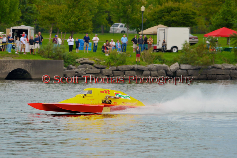 National Modified hydroplane racing at the  HydroBowl on Seneca Lake in Geneva, New York.