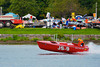 Jersey Speed Skiffs doing fly-bys at the HydroBowl on Seneca Lake in Geneva, New York.