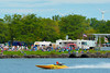 Pro Stocks racing at the  HydroBowl on Seneca Lake in Geneva, New York.