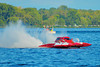 5.0 Liter Stock hydroplanes at the HydroBowl on Seneca Lake Inboard Hydroplane Racing in Geneva, New York.