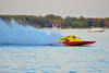 National Modified hydroplanes at the HydroBowl on Seneca Lake Inboard Hydroplane Racing in Geneva, New York.