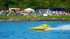1.0 Liter Modifed hydroplane, Fast Eddie Too, racing at the HydroBowl on Seneca Lake in Geneva, New York.