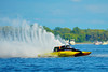 1.5 Liter Stock hydroplanes at the HydroBowl on Seneca Lake Inboard Hydroplane Racing in Geneva, New York.