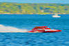 5.0 Liter Inboard Hydroplanes racing at HydroBowl on Seneca Lake in Geneva, New York.