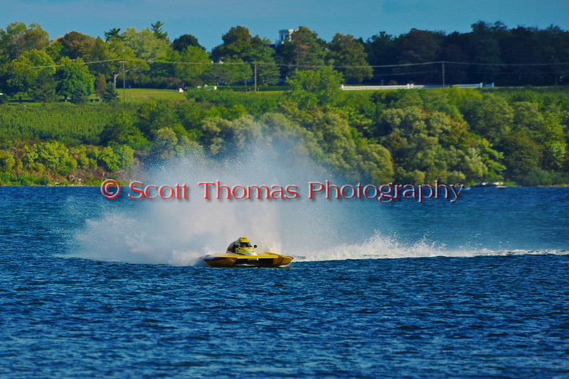 National Modified Inboard Hydroplane racing at HydroBowl on Seneca Lake in Geneva, New York.