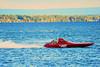 K Racing Runabouts (K-Boats) racing at HydroBowl on Seneca Lake in Geneva, New York.