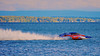 5.0 Liter Inboard Hydroplanes racing at HydroBowl on Seneca Lake in Geneva, New York.