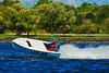 JS-40 The Pacifier Jersey Speed Skiff racing at HydroBowl on Seneca Lake in Geneva, New York.