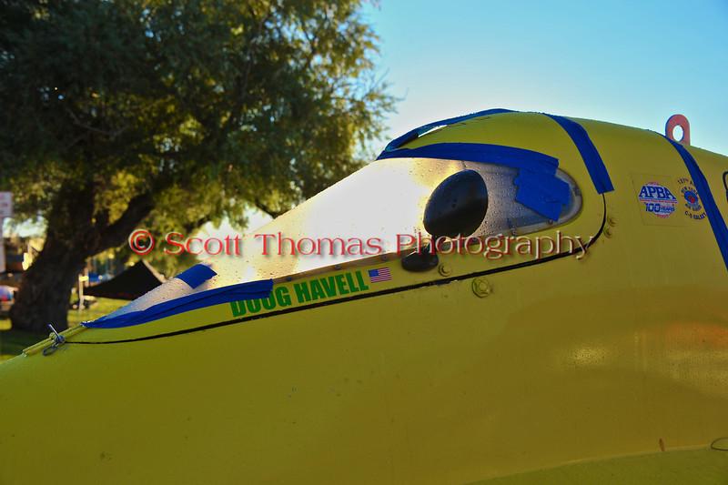 Inboard Hydroplane pits at HydroBowl on Seneca Lake in Geneva, New York.