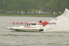 Hydroplane GP50 Brodie Motorsports being driven by Kenneth W. Brodie II racing on Onondaga Lake during Syracuse Hyrdofest on Saturday, June 20, 2009.