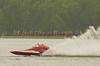 Hydroplane T1 Shameless Say What? being driven by xxxxx xxxxxx  racing on Onondaga Lake during Syracuse Hyrdofest on Saturday, June 20, 2009.